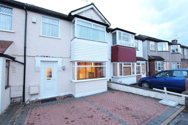Thumbnail Terraced house to rent in Lea Crescent, Ruislip