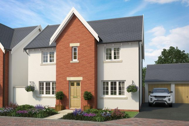 "Thumbnail Detached house for sale in ""Thornbury 1"" at The Green, Chilpark, Fremington, Barnstaple"
