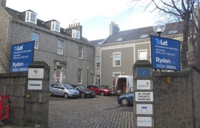 Thumbnail Office to let in First Floor West, Migvie House, North Silver Street, Aberdeen