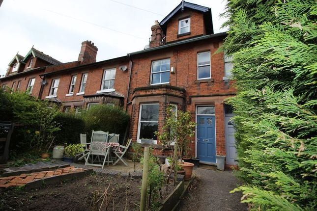 Thumbnail Terraced house for sale in Westwood Road, Leek