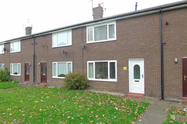 Thumbnail Terraced house to rent in Bentinck Crescent, Pegswood, Morpeth