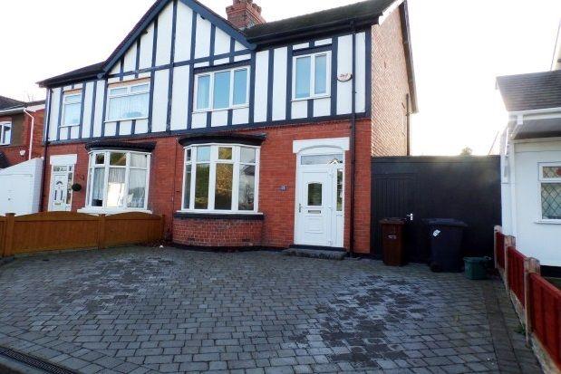 Thumbnail Semi-detached house to rent in Richmond Road, Wolverhampton
