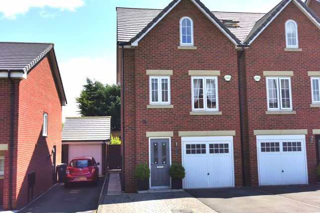 Thumbnail Semi-detached house for sale in Sandfield Crescent, Whiston, Prescot