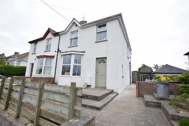 Thumbnail Semi-detached house for sale in Lynstone Road, Bude