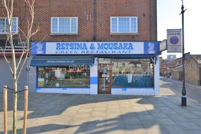 Thumbnail Restaurant/cafe to let in Culmington Parade, Uxbridge Road, London