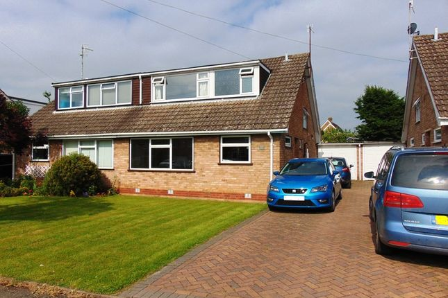 Thumbnail Semi-detached house for sale in Seward Road, Badsey