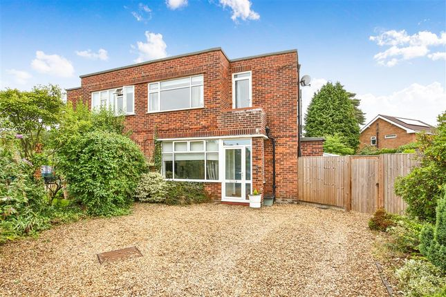 Thumbnail Semi-detached house for sale in Leopold Close, Norwich