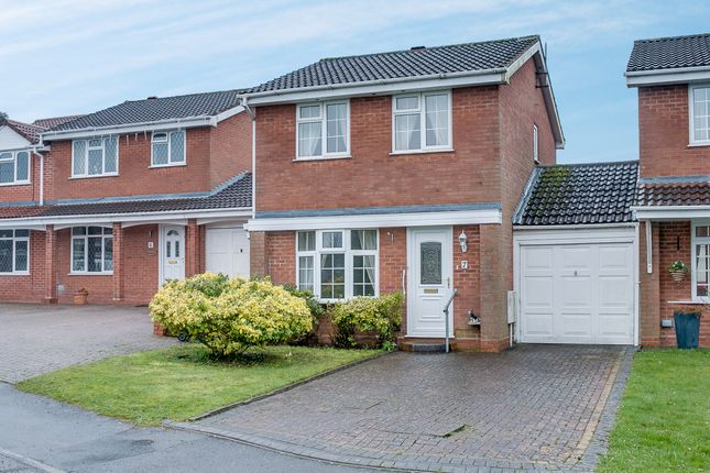 Thumbnail Link-detached house for sale in Welford Close, Oakenshaw South, Redditch