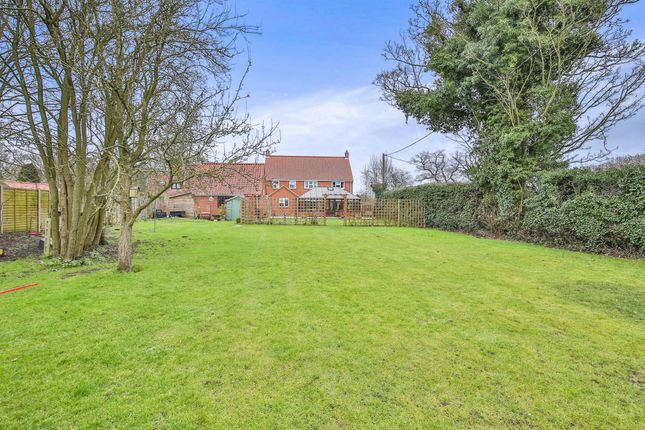 Thumbnail Detached house for sale in Dereham Road, Whinburgh, Dereham