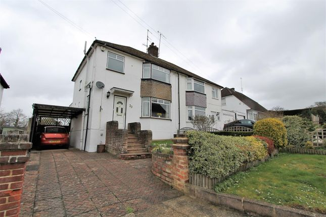 Thumbnail Semi-detached house for sale in Woodlands Road, Nash Mills, Hemel Hempstead