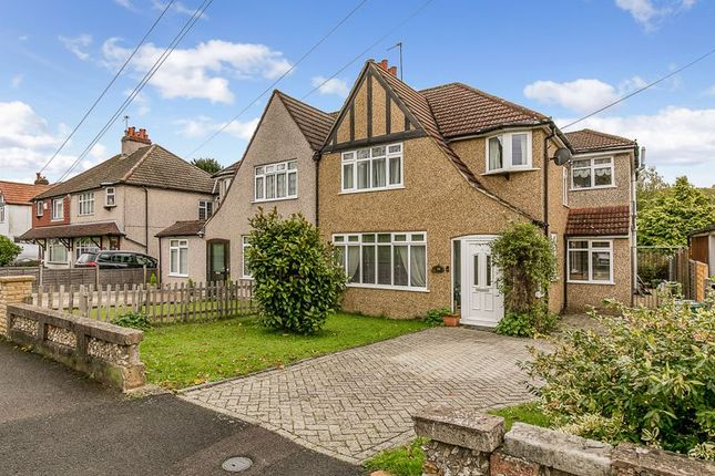 Thumbnail Semi-detached house for sale in Church Lane Avenue, Hooley, Coulsdon