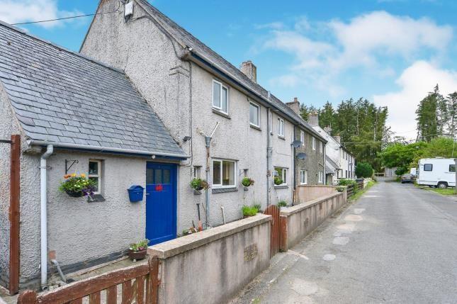 Thumbnail End terrace house for sale in Min Y Brenig, Pentre Llyn Cymmer, Cerrigydrudion, Corwen