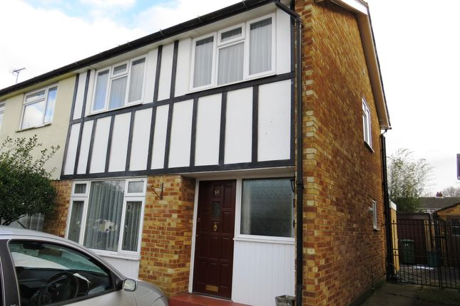 Thumbnail Semi-detached house for sale in Bush Hall Road, Billericay