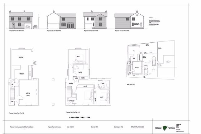 Thumbnail Detached house for sale in Wing Road, Manton, Oakham