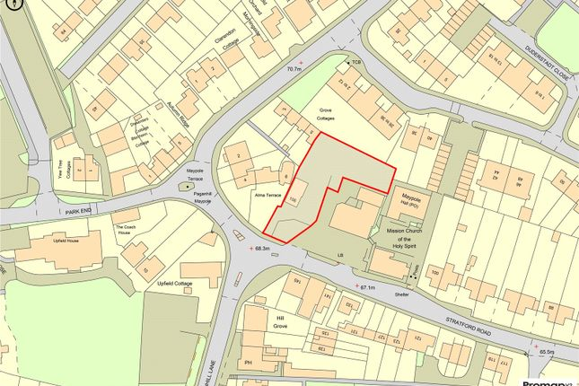 Thumbnail Land for sale in Stratford Road, Stroud