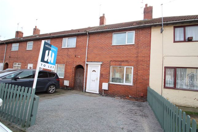 Thumbnail Terraced house to rent in Smeaton Road, Upton, Pontefract, West Yorkshire