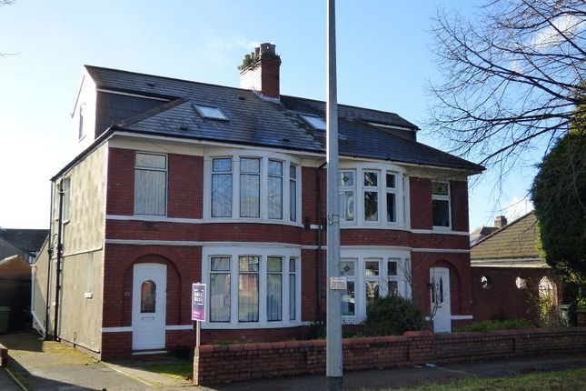 Thumbnail Semi-detached house for sale in Ash Grove, Whitchurch, Cardiff.