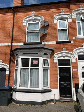 Thumbnail Terraced house to rent in Ivor Road, Birmingham