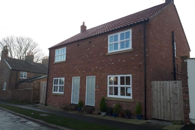Thumbnail Semi-detached house to rent in 30A Main Street, Hutton Cranswick