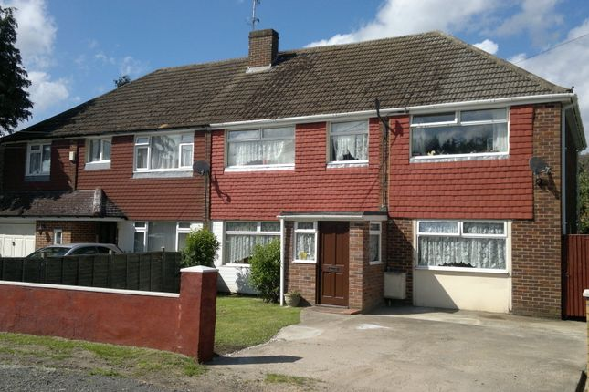 Thumbnail Semi-detached house for sale in South Road, Ash Vale, Aldershot