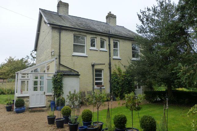 Thumbnail Detached house to rent in White Hart Lane, Soham, Ely
