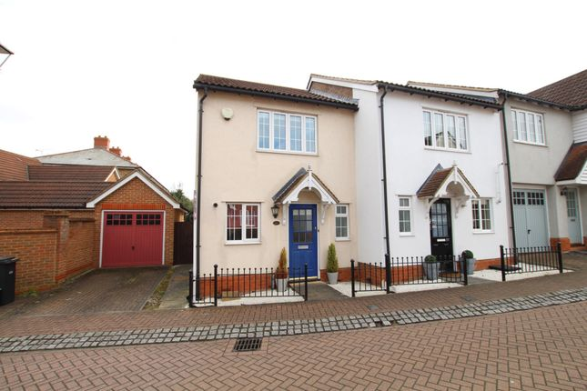 Thumbnail End terrace house for sale in Malkin Drive, Church Langley