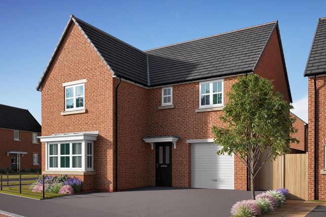 "Thumbnail Detached house for sale in ""The Grainger"" at Southfield Lane, Tockwith, York"