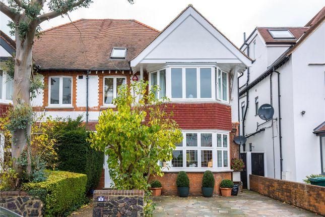 Thumbnail Semi-detached house for sale in Lyndhurst Gardens, Church End, London