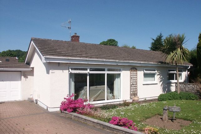 Thumbnail Detached bungalow for sale in Parry Close, Cwrt Herbert, Neath .