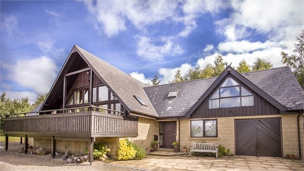 Thumbnail Detached house for sale in Slaley Park, Slaley Hall, Slaley