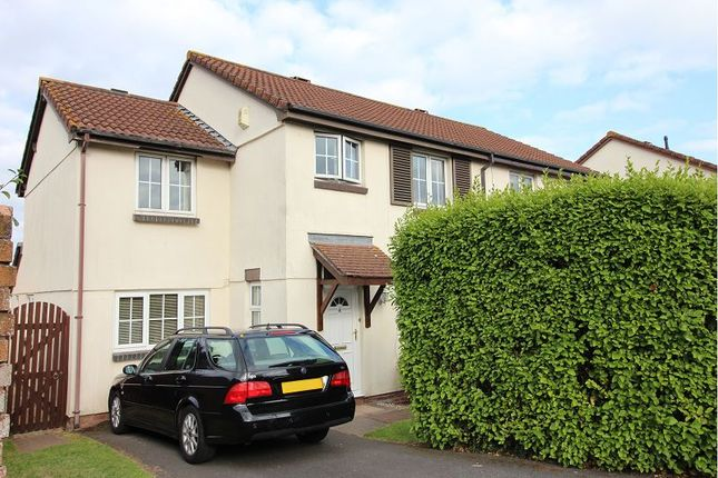 Thumbnail Semi-detached house for sale in Hammond Croft Way, Alphington, Exeter