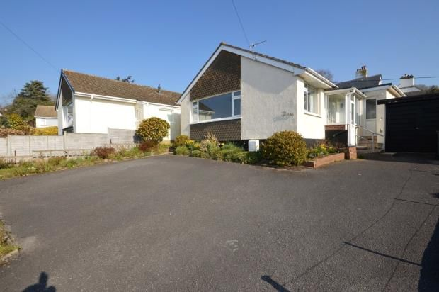 Thumbnail Detached bungalow for sale in Crokers Meadow, Bovey Tracey, Newton Abbot, Devon