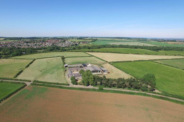 Thumbnail Farmhouse for sale in Markland Lane, Clowne, Chesterfield, Derbyshire