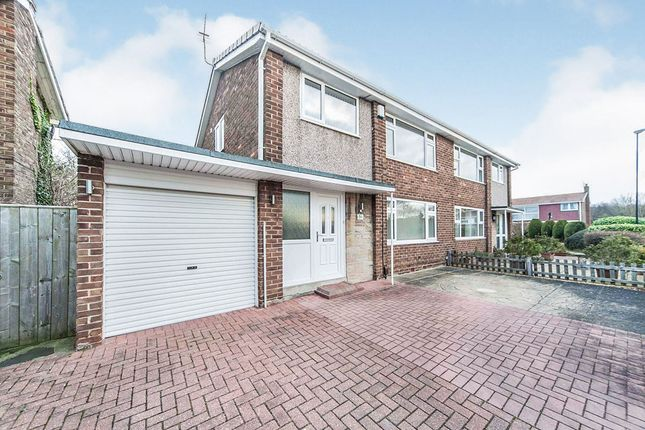 Thumbnail Semi-detached house for sale in Park Lea, Sunderland, Tyne And Wear