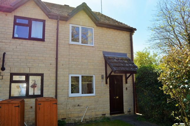 Thumbnail End terrace house for sale in Broadway Close, Kempsford, Fairford