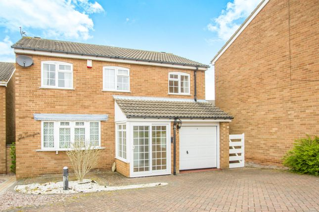 Thumbnail Detached house for sale in Ledbury Close, Oadby, Leicester