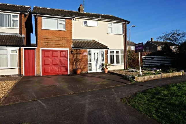 Thumbnail Detached house for sale in Fletchers Way, Leicester