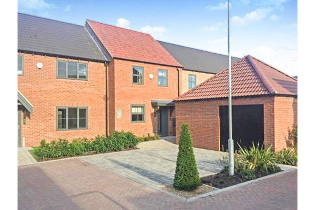 Thumbnail End terrace house for sale in Hawfinch Meadows, Retford