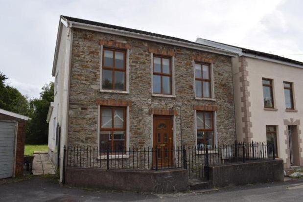 Thumbnail Detached house to rent in Glanyrafon, Felinfoel, Carmarthenshire
