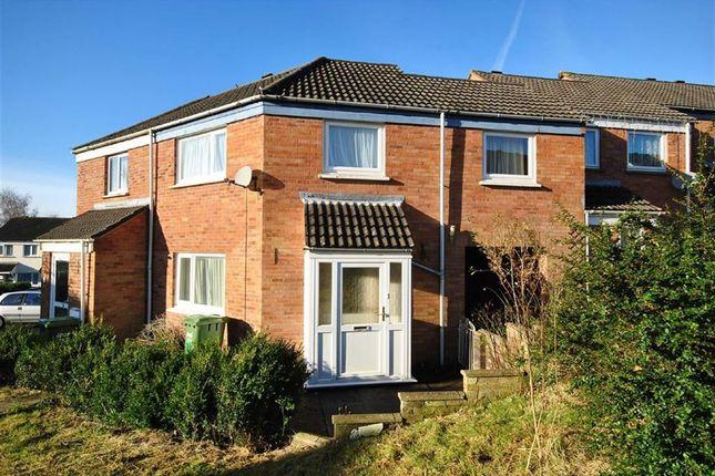 Thumbnail Terraced house to rent in Woolbarn Lawn, Barnstaple, Devon