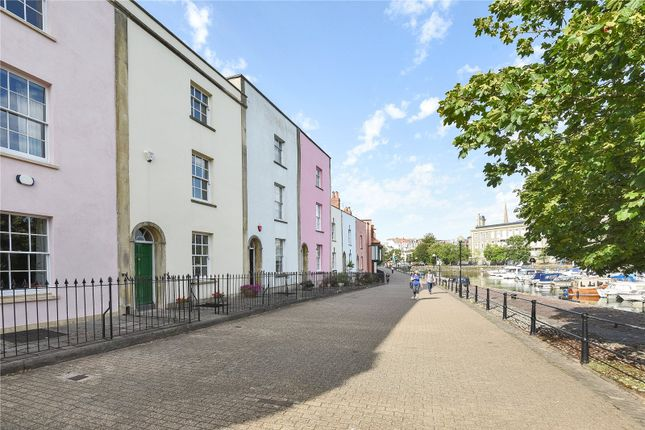 Thumbnail Town house for sale in Bathurst Parade, Bristol, Somerset