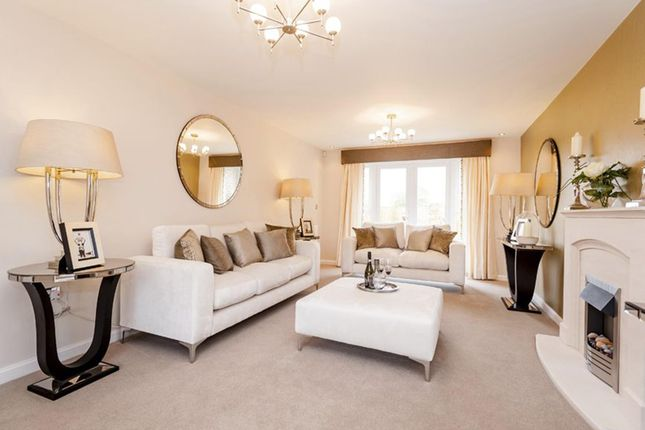 """Thumbnail Detached house for sale in """"Warwick"""" at Queens Drive, Nantwich"""