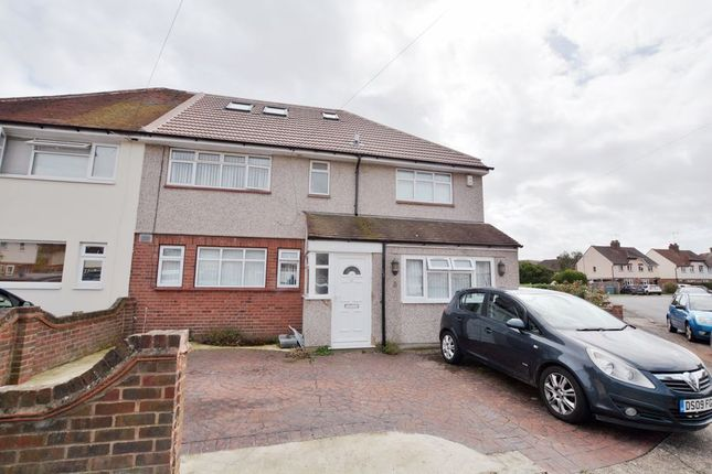 Thumbnail Semi-detached house to rent in Church Close, Cowley, Uxbridge