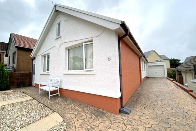 Thumbnail Detached bungalow for sale in Kenway Avenue, Neath, Neath Port Talbot.