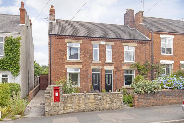 2 bed semi-detached house to rent in Park House Road, Pilsley, Chesterfield S45