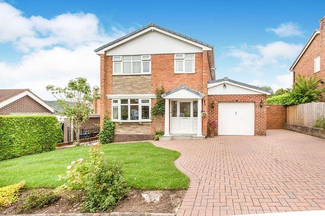 Thumbnail Detached house for sale in Grangefields, Biddulph, Stoke-On-Trent