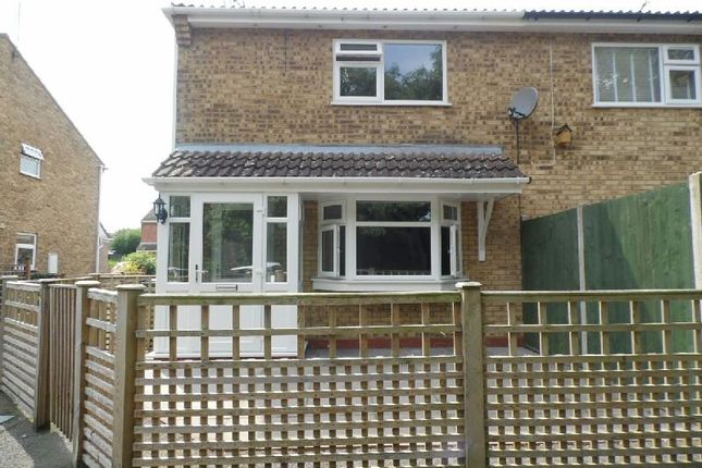 Thumbnail End terrace house to rent in Maple Avenue, Countesthorpe, Leicester