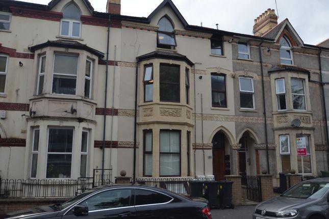 Thumbnail Flat to rent in Fitzhamon Embankment, Grangetown, Cardiff