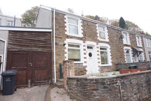 Thumbnail End terrace house for sale in Woodside Terrace, Llanhilleth, Abertillery