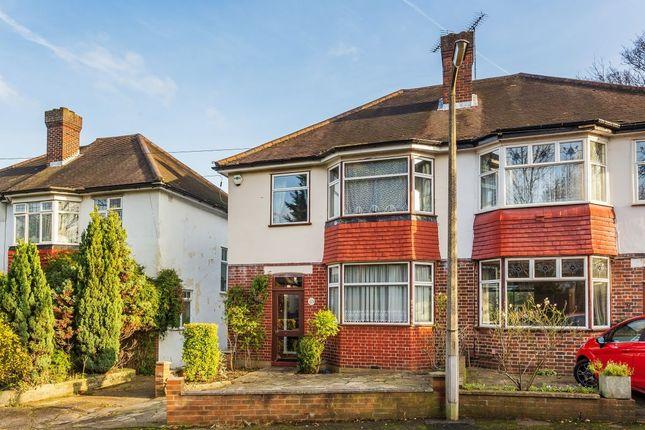 Thumbnail Semi-detached house for sale in Camden Gardens, Sutton